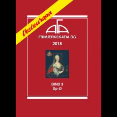 AFA Western Europe stamp catalogue vol. 3, 2018