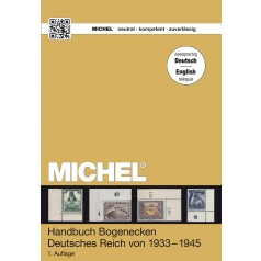 MICHEL Handbuch-Katalog Bogenecken Deutsches Reich – Deutsch/Englisch