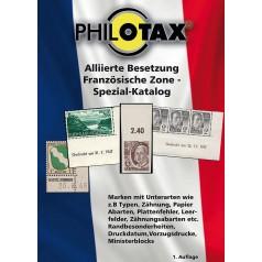 PHILOTAX Alliierte Französische Zone Spezial Katalog