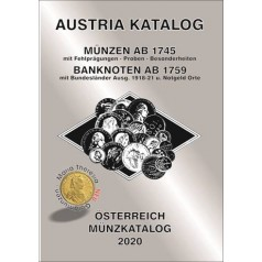 ANK Münzkatalog Österreich 2020