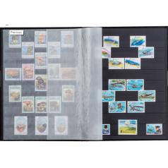 Leuchtturm Einsteckbücher Basic, DIN A4, 32 schwarze Seiten, unwattierter Einband, Schwarz