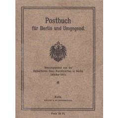 Kaiserliche Ober-Postdirektion Berlin (Herausgeber): Postbuch für Berlin und Umgegend - Ausgabe 1909