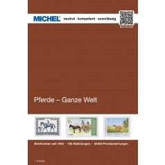 MICHEL Motivkatalog Pferde - Ganze Welt