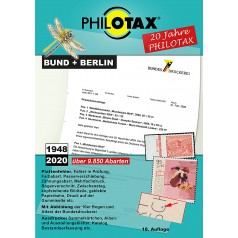 PHILOTAX DVD Briefmarken-Abarten Katalog Bund + Berlin 18. Auflage